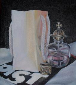 """""""PIST"""" oil on canvas"""